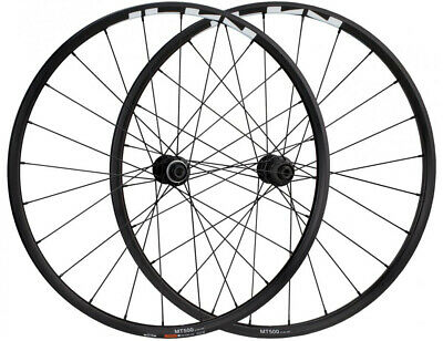 "Shimano WH-MT500 29"" Boost Centrelock MTB Wheelset Black"