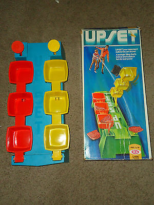 Vintage 1972 UPSET No Bean Bag Indoor Or Outdoor Game Toy Ideal