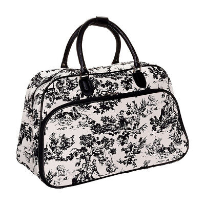 "World Traveler Countryside White 21"" Carry-On Duffel Rolling Duffel NEW"