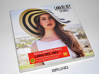 "7""-BOX: Lana Del Rey - The Singles, Limited Edition, NEU & OVP (A9/5/50.52)"
