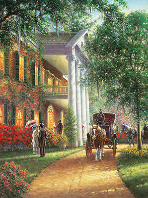 Jigsaw puzzle Buildings Southern Charm 1000 piece NEW Made in the USA