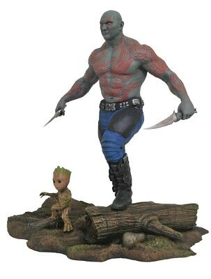 Guardians of the Galaxy Marvel Gallery PVC-Statue - Drax & Young Groot