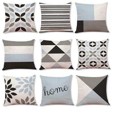 Home Sofa Decor Cushion Cover Simple Geometric Throw Pillowcase Pillow Covers