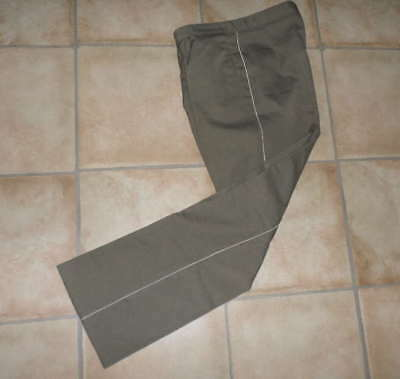 DDR Uniform - Hose Offizier NVA Stasi m44 weiße Biese East german army trousers