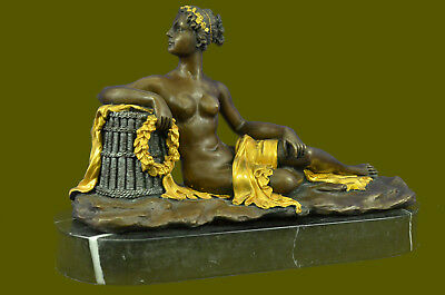 Close Out Bronze Sculpture Nouveau Woman Canova Gilt Masterpiece Extra Large
