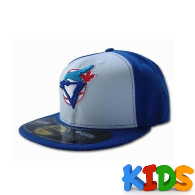 Toronto Blue Jays Officially Licenced MLB KIDS New Era 59FIFTY Retro Fitted Cap