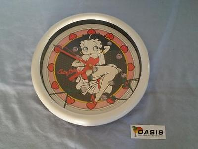 Betty Boop - Vandor Bed of Roses Clock