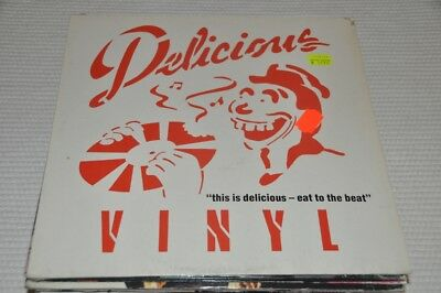 VA Sampler - this is delicious Eat to the beat- 80s Album Vinyl Schallplatte LP