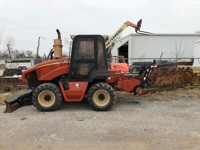 11 Ditch Witch RT95 Trencher with Cab with Heat and A/C