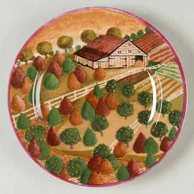 Block COUNTRY VILLAGE Fall Salad Plate 5747951