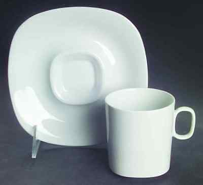 Block TRANSITION-WHITE Cup & Saucer 36200