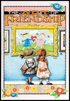 Mary Engelbreit Greeting Card - Happy Valentine's Day, The Art of Friendship