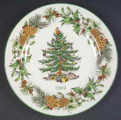 Spode CHRISTMAS TREE (GREEN TRIM) Collector Plate 2004 7499200