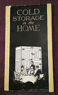 Vtg Bohn Refrigerator Co. St Paul MN Sales Booklet Oak Ice Boxes Great Graphics