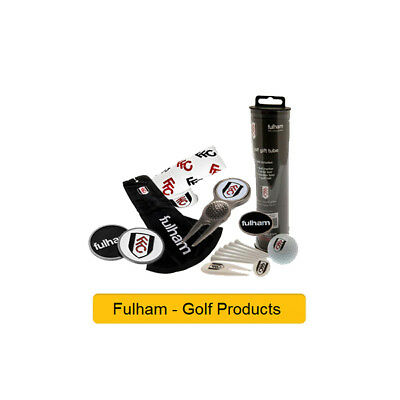 FULHAM FC - GOLF PRODUCTS - Official Football Merchandise (Gift, Xmas,Birthday)