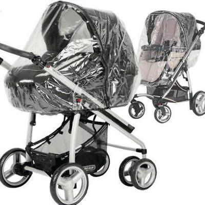 Raincover To Fit Mothercare 4-wheel Journey Travel System