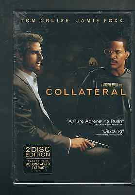 Collateral Tom Cruise, Jamie Foxx 2-Disc Set DVD New