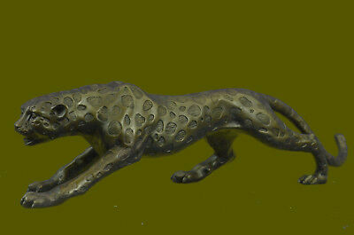 Close Out Wild Elegance Cheetah Collector Trophy Animal Wildlife Bronze Figurine