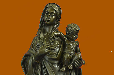 Close Out Mary with Baby Jesus Museum Quality Bronze Artwork Classic Work Sale