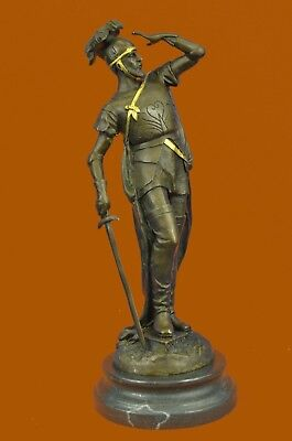 Close Out Hot Cast Bronze Sculpture Roman Soldier with Sword Figurine Figure