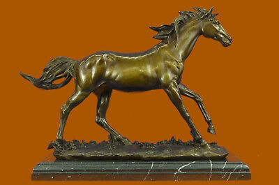 Close Out Derby Winner Arabian Horse Hot Cast Classic artwork Masterpiece Figure