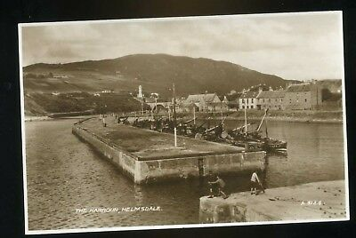 HELMSDALE   The Harbour with moored fishing boats   RP