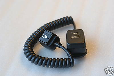 Original Canon Off-Camera Shoe Cord 2 in Ext Condition