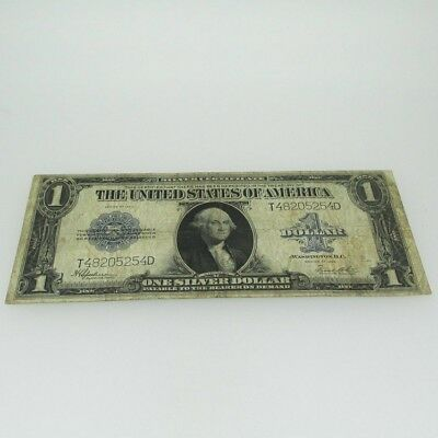 1923 Silver Certificate United States 1 Dollar Bill One Dollar Large Note 600494