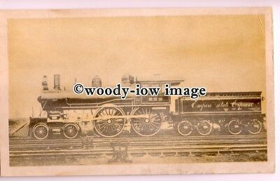 ry1266 - New York Central Railroad, Empire State Express No.999 - postcard