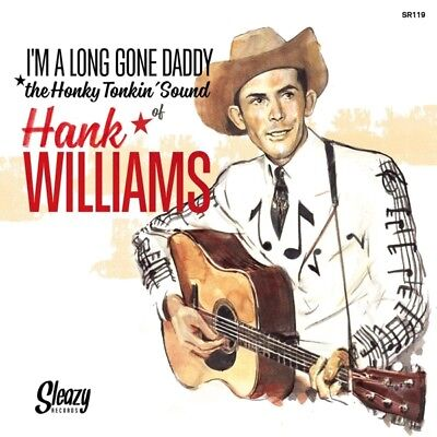 """Hank Williams - Im A Long Gone Daddy (6x7""""EP In Hard-Cover Book) Vinyl Max NEU"""