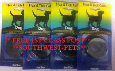 Free 1St Class Post-Dog Puppy Flea Tick Collar Waterproof Flea