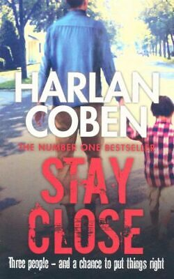 NEW Stay Close By Harlan Coben Paperback Free Shipping