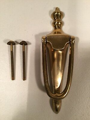 Antique / Vintage Door Knocker Solid Brass Hardware