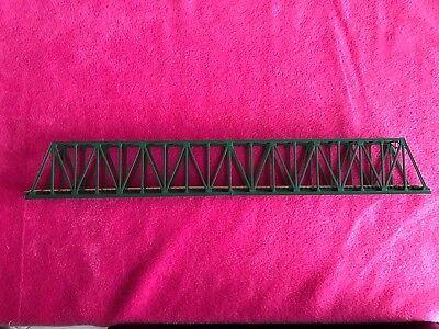 N Scale Kato Unitrack Custom Made Bridge In Green