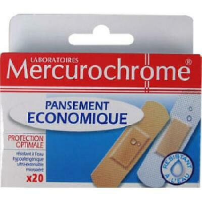 20 Pansements Mercurochrome