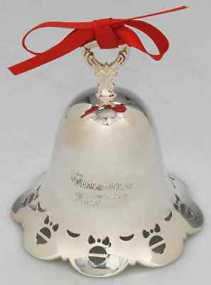 Towle CHRISTMAS BELL 2010 Ornaments & Bows Pierced Bell