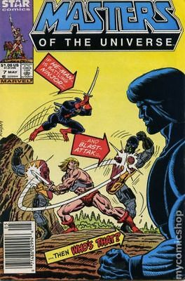 Masters of the Universe (Marvel/Star Comics) #7 1987 VG+ 4.5 Stock Image