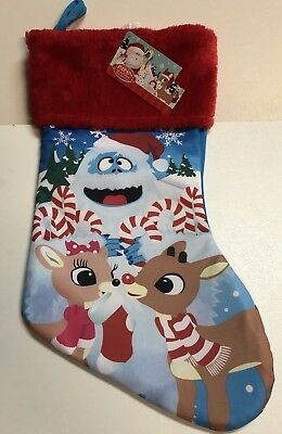 0adb29414f9 Rudolph The Red Nosed Reindeer Santa Christmas Stocking 15