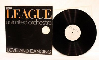Vinyl Album LP - The Human League Unlimited Orchestra - Love & Dancing