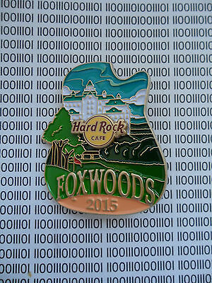 Hard Rock Cafe Foxwoods 2015 - City Icon - Original Version Series Pin on Card