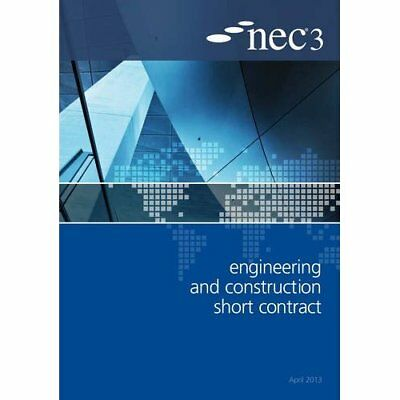 NEC3 Engineering and Construction Short Contract (ECSC) - Paperback NEW NEC (Aut