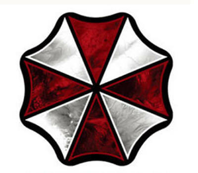 Resident Evil Umbrella Corporation Sticker Auto Aufkleber LOGO 17,5cm