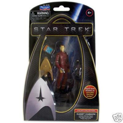 Star Trek 2009 Galaxy Collection Actionfigur: Chekov Cadet Uniform