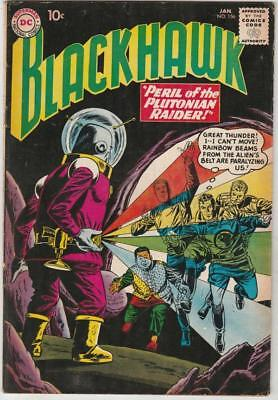 Blackhawk  # 156  strict  FN/VF  1st   appearance  The Plutonian Raider!