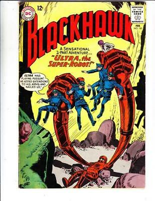 Blackhawk  # 181  strict  VG/FN  1st   appearance  The Tom Thumb Blackhawk!