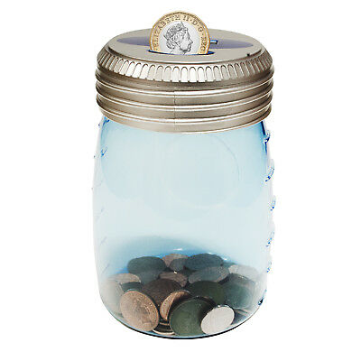 Digital Electronic Money Jar Accepts New £1 Coins LCD Counting Box UK Piggy Bank