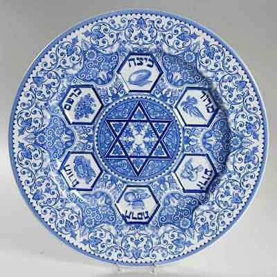 Spode BLUE ROOM JUDAIC COLLECTION Passover Seder Plate 3746119