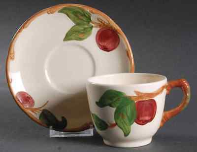 Franciscan APPLE (MADE IN USA) Cup & Saucer 134119