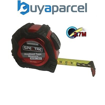 Spectre Trade Auto Lock 5m / 16ft Tape Measure Metric Imperial 2.7m Standout