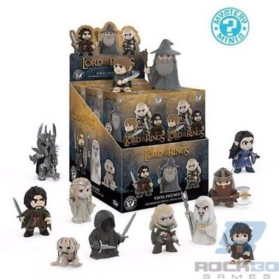 JRR Tolkien Lord of the Rings - One Funko Mystery Mini Blind Box Figure Sealed
